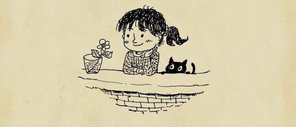 Ilustrace dívky